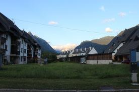 Our neighborhood in Bovecs