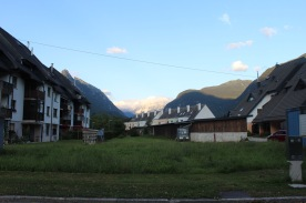 Our neighborhood in Bovecs