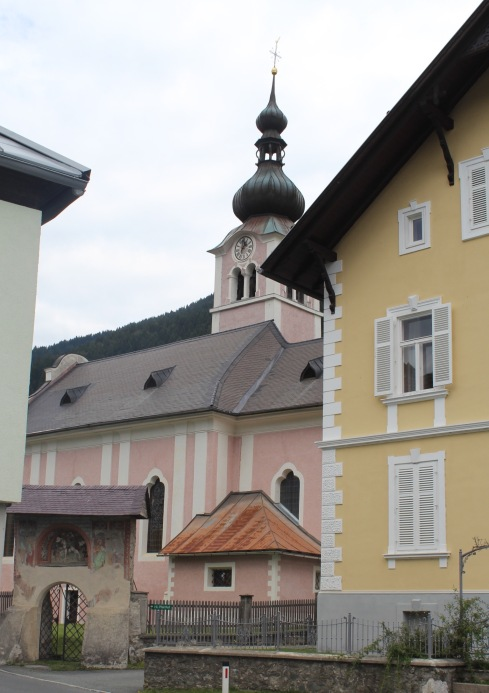 Our first glimpse of the beautiful Bad Haring, Austria