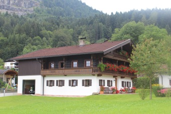 A classic Tirolean farm house, according to Huberta. It's beautiful!