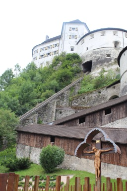 The castle - we walked the stairs rather than taking the funicular. So tough.
