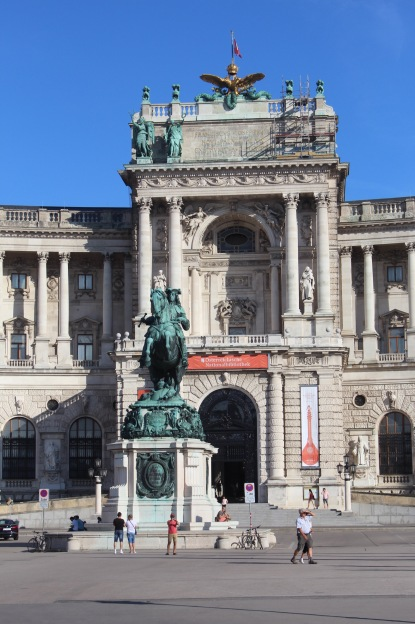 So many fancy huge buildings in Vienna, mostly built by emperor Franz Josef.