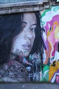 I don't think it can be called graffiti if it's this photorealistic, right?