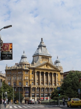 """Like in Vienna, there are lots of grand buildings in Budapest. But they have slightly different flavour. As Julia so eloquently puts it, Budapest is Vienna's """"edgier step-sister"""""""
