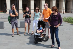 Touristing around Budapest