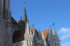 A beautiful church on the Buda side of Budapest