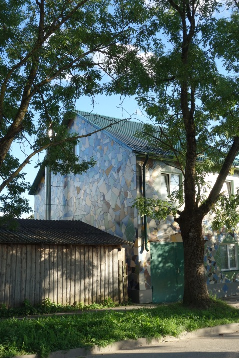MULTI-COLOURED WHOLE HOUSE TILE MOSAIC!