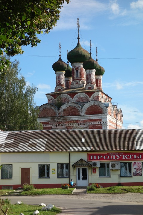 One of many churches in Ostashkov
