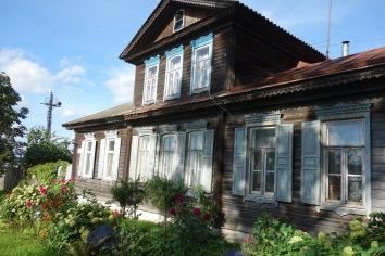 House shot! Ostashkov