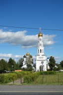 Out of Torzhok - there really are churches everywhere, even out in the countryside