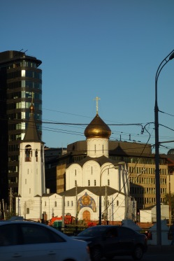 Another pretty church in Moscow, name unknown