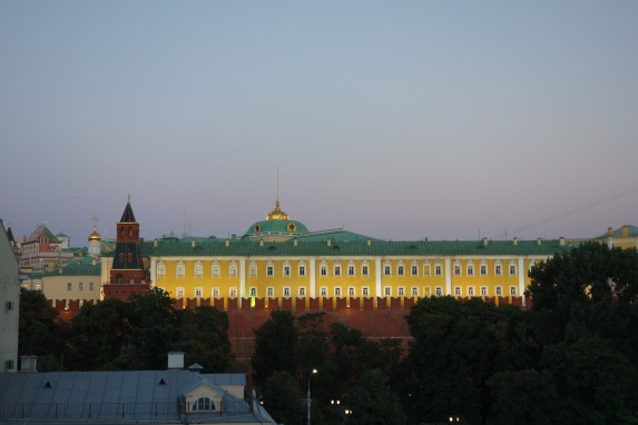 Another view of the Kremlin from our room