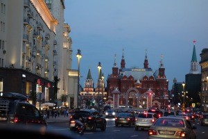 Moscow, sparkling like a jewel