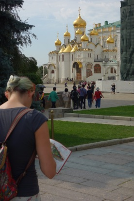 Touristing in the Kremlin