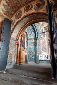 Inside one of the Kremlin churches