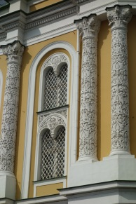 A detail of a Kremlin building