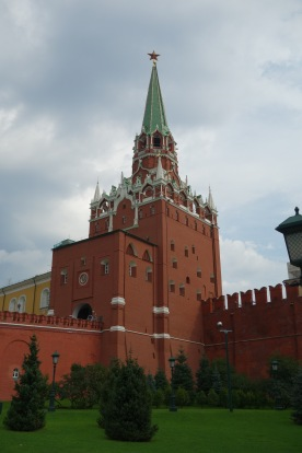 The Kremlin from the outside