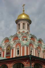 A church in Red Square. I feel like it would be more famous if St Basil's Cathedral wasn't such a show off