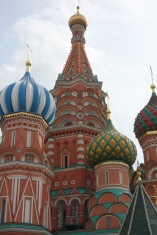 And here it is, St. Basil's Cathedral.