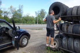 Looking for tires to take us offroading in Mongolia