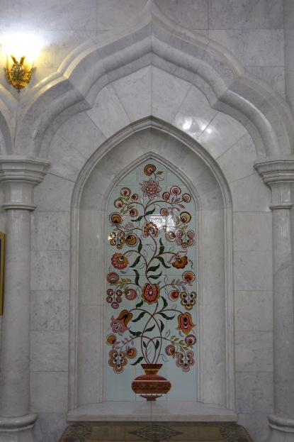 A lovely detail in the mosque.