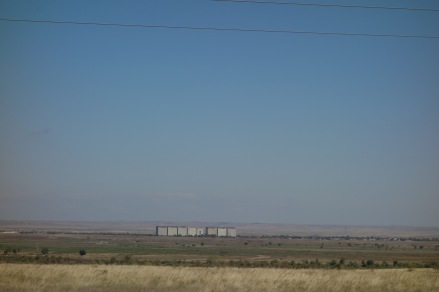 One of our first views of Kazakhstan.