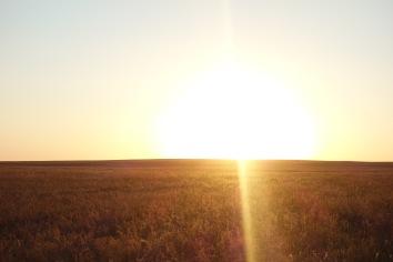 Beautiful Kazakhstan. We camped here.