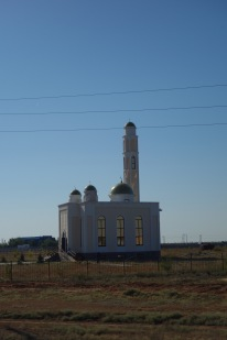 A mosque in the middle of nowhere, which I suppose is somewhere to some people.