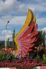 Here's more flower art.