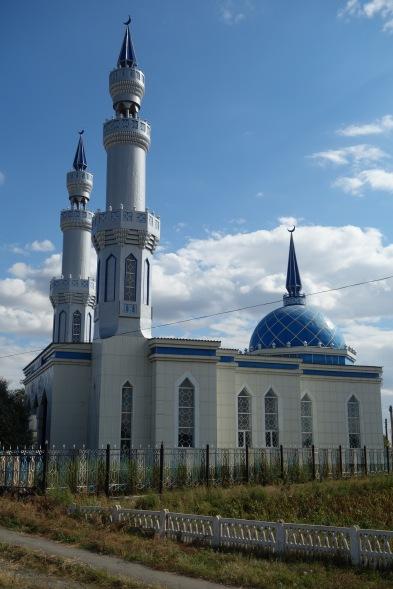 A very creative Muslim cemetery