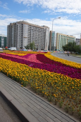 And back to the new part of Astana, where we stayed
