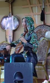 Costume change for the Kazakhs!