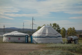 OUR FIRST YURT!! WOOT WOOT!