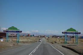 Kosh-Agach, the last town on the Chusky Trakt in Russia, on the border of Mongolia. Looks like the edge of the world.