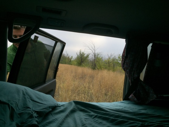 Look at this beautiful view. This is why free camping is the best.