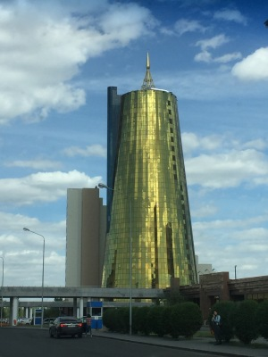 "This has a twin building, and they are nicknamed ""The Beer Cans"""