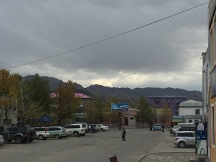 And now, into Ulgii, the next town on our road in Mongolia