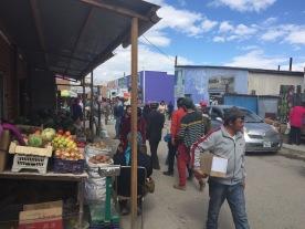 The market in Ulgii