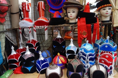 Traditional hats the black market