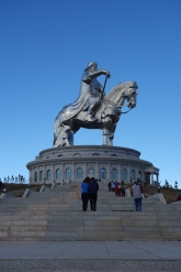 The Chinggis Khan statue