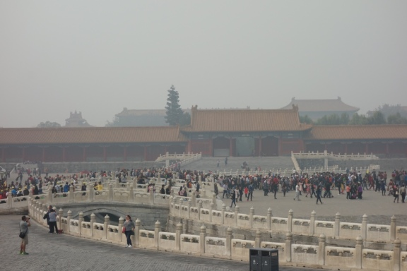 More Forbidden City throngs