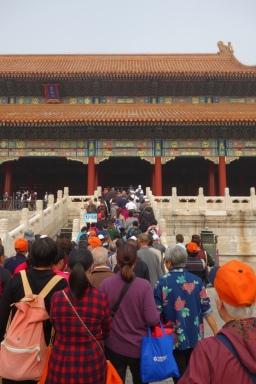 More Forbidden City throngs