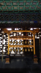 Beautiful musical instrument at the Forbidden City