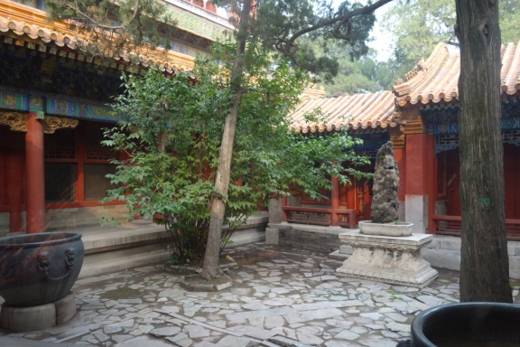 A courtyard that I want to live in at the Forbidden City