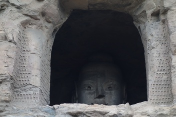 Oh hi there, Buddha head!