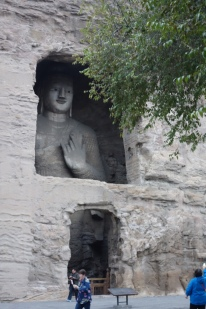 A particularly large Buddha
