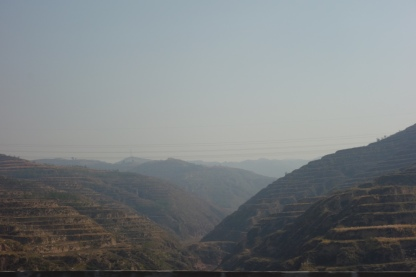 The view on the way away from Pingyao