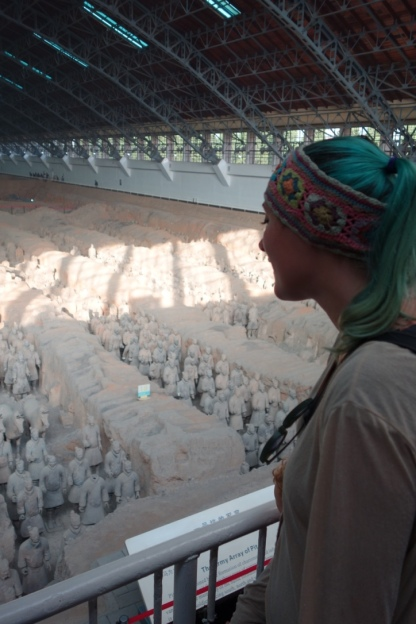In awe over the Terracotta Warriors