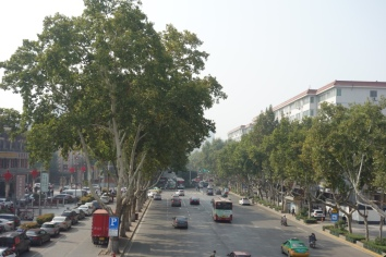 The town of Xi'an itself is lovely