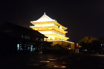 Pretty building in Xi'an! It houses lots of drums which used to wake up the town in the morning.